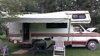 1982 FORD EMPRESS CLASS C MOTORHOME FOR SALE.