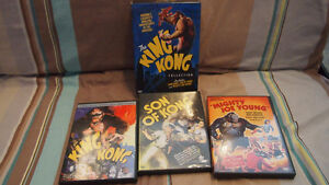 Coffret 3 dvd King Kong