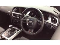2011 Audi A5 2.0 TDI S Line 2dr (Start Stop Manual Diesel Convertible