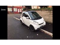 2009 59reg Smart Four Two 800cc Turbo Diesel White Automatic New Shape private plate