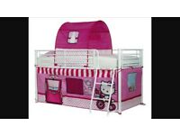 Hello kitty mid sleeper bed tent
