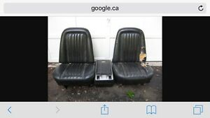 Wanted 1969-1972 Bucket seats and console