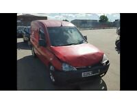 Vauxhall combo 1.7 diesel van spares repair good engine and box alloys