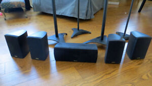 Paradigm Home Theatre Cinema v.1 Speakers and Stands