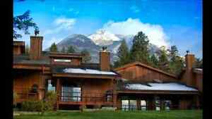 FAIRMONT HOT SPRINGS MOUNTAINSIDE WEEK FOR RENT