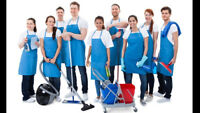 FULL TIME & PART TIME CLEANING POSITIONS AVAILABLE