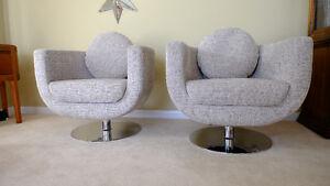 Nuevo Living Modern Lounge/Reception/Conversation Chairs
