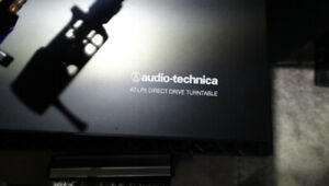 Audio-Technica AT-LP5 Direct Drive High Fidelity Turntable – Bla