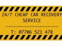 * CHEAP RECOVERY * 24 / 7 CAR RECOVERY SERVICE + COMPETIVE PRICES + CALL NOW *