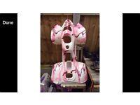 pink quad plastics