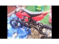 140cc pit bike swap for 250cc