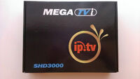 MEGA TVi SHD3000 HD FTA Satellite Receiver and IPTV