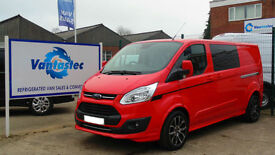 Ford Transit Custom 2.0TDCi 130PS Double Cab-in-Van 290 L2H1 with Polyshield