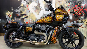 2013 Harley FXDB custom. Everyones approved. $348. a month.