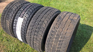 Winter tires, excellent condition, 215/55/R16