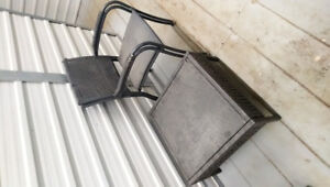 Balcony Table set. Table + 2 chairs