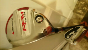 Left Handed AdamsGolf RPM 3 Driver and  Comes with Loft Iron