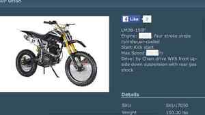 Dirt Bike 150cc 150F Orion