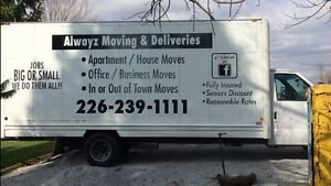 ALWAYZ MOVING & DELIVERIES London Ontario image 5
