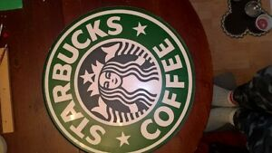 big starbucks sign