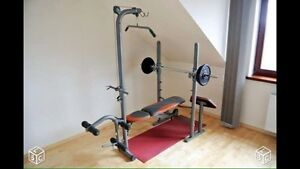 Banc machine d'excercice musculation Damyos