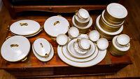 Antique Limoges china - 100 piece dinner set