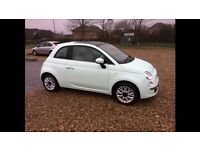 Fiat 500 1.2 lounge 2014 Smooth Mint