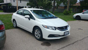 2014 Honda Civic LX low kilometers