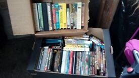 Hunting DVDs and vhs tapes