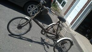 Bicyclette a 3 roues