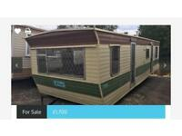 ATLAS STATUS STATIC CARAVAN MOBILE HOME 28 X 10