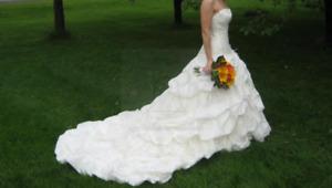 MAGNIFIQUE Robe de mariée ivoire