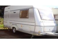 Cheap 2 berth tourer with Motormover