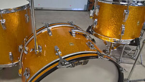 LUDWIG 1960's DRUM BATTERIE******** 100% ORIGINALE *************