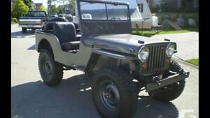 50's willys jeep wanted