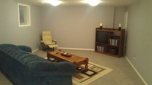CLEAN & COZY SPACIOUS 1 BEDROOM BASEMENT SUITE FOR RENT MAY 1