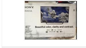 "BRAND NEW 40"" SONY SMART TV"