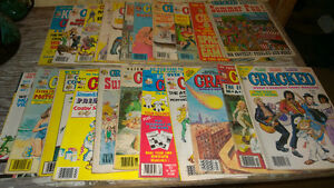 22 cracked magazines from 80s