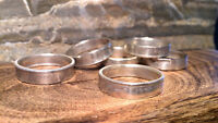 Coin and Spoon Rings