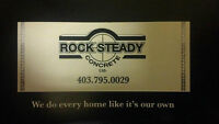 ROCK STEADY CONCRETE LTD