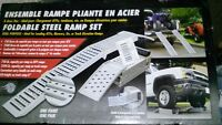 Foldable Steel Ramp Set