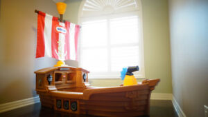 Little Tikes  Pirate Toddler Ship Bed