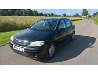 Vauxhall/Opel Astra 1.6i ( a/c ) Club 2002 02 reg 2 owners from new