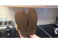 Real genuine chestnut if boots size 3