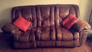 Reclining Couch, Great Condition - Pick Up Only - Quick Sale