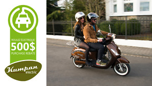 Scooter 100% Électrique Allemand - Deux places - Kumpan Electric