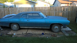 1970 pontiac parisienne project car