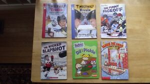 Set of 6 Books (4 Hockey & 2 Misc)