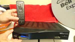 Bell ExpressVu 2700  receiver and dish for Best Offer