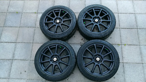 Konig Control Rims with All Seasons
